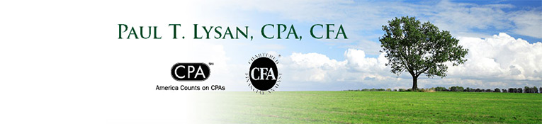 Paul T. Lysan, CPA, CFA